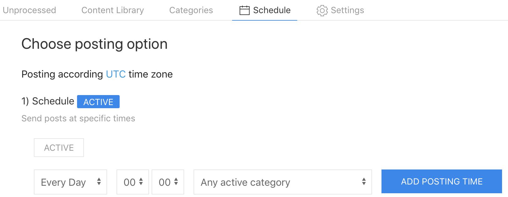 Hiplay Schedule